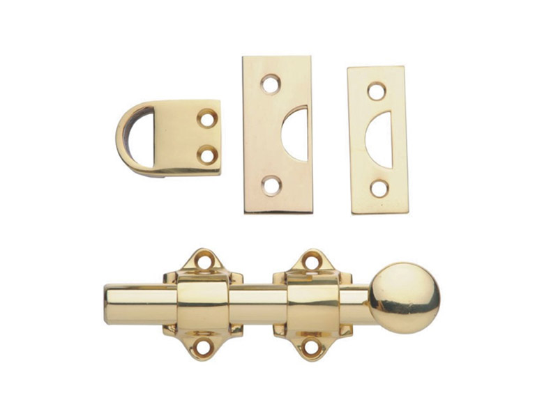 Surface bolt -DBD04-Brass-DOOR ACCESSORIES
