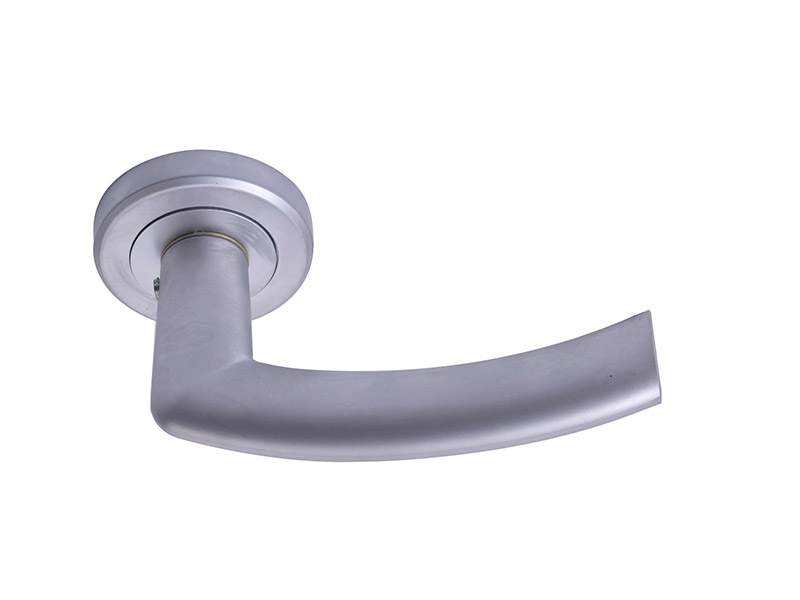 DH5274-ALUMINIUM ALLOY LEVER DOOR HANDLE ON ROSE