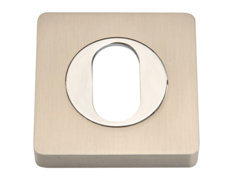 UE52-SQ-ZINC ALLOY LEVER DOOR HANDLE ON ROSE