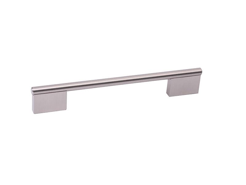 CP233-96-STEEL BAR+ZINC FEET-CABINET KNOB & PULL