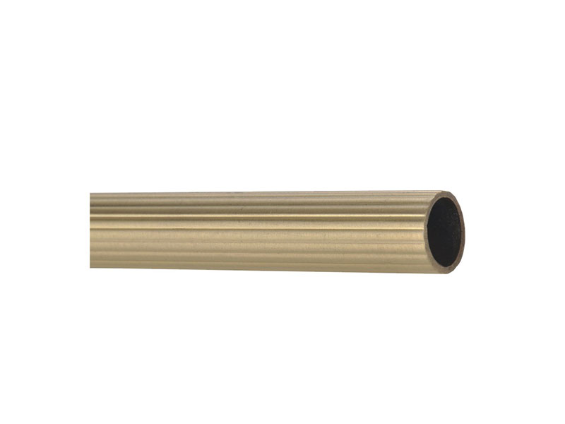 Fluted Tube-F1228-Steel-STAIR ROD
