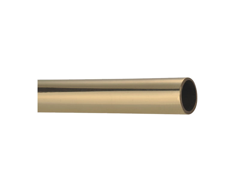 Smooth tube-SB3828 Antique Brass Stair Rod-Brass-STAIR ROD