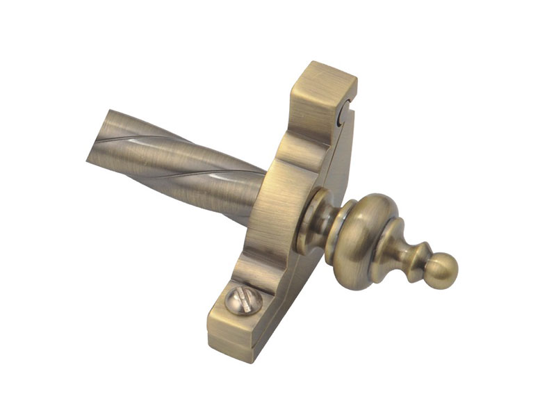 Urn-Z1212-Steel Tube and Zinc Bracket&Finial-STAIR ROD