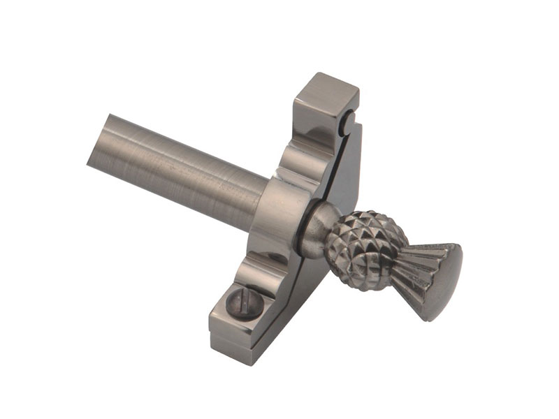 Thistle-Z1215-Steel Tube and Zinc Bracket&Finial-STAIR ROD