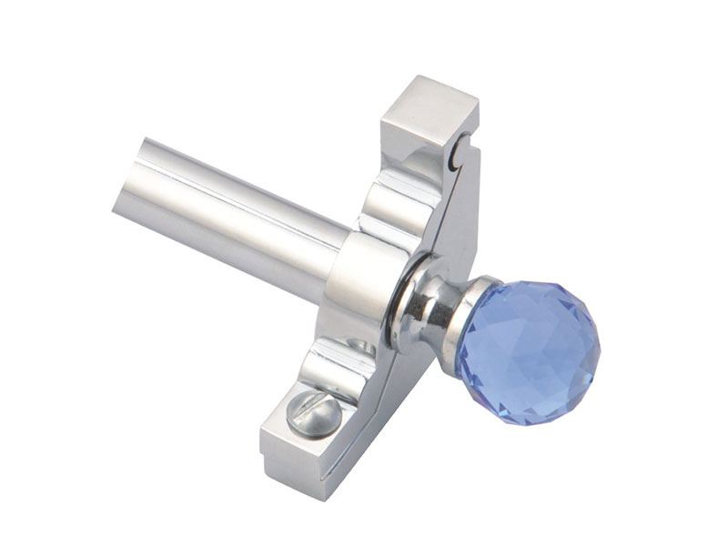 Crystal-Z1216-Steel Tube and Zinc Bracket&Finial-STAIR ROD